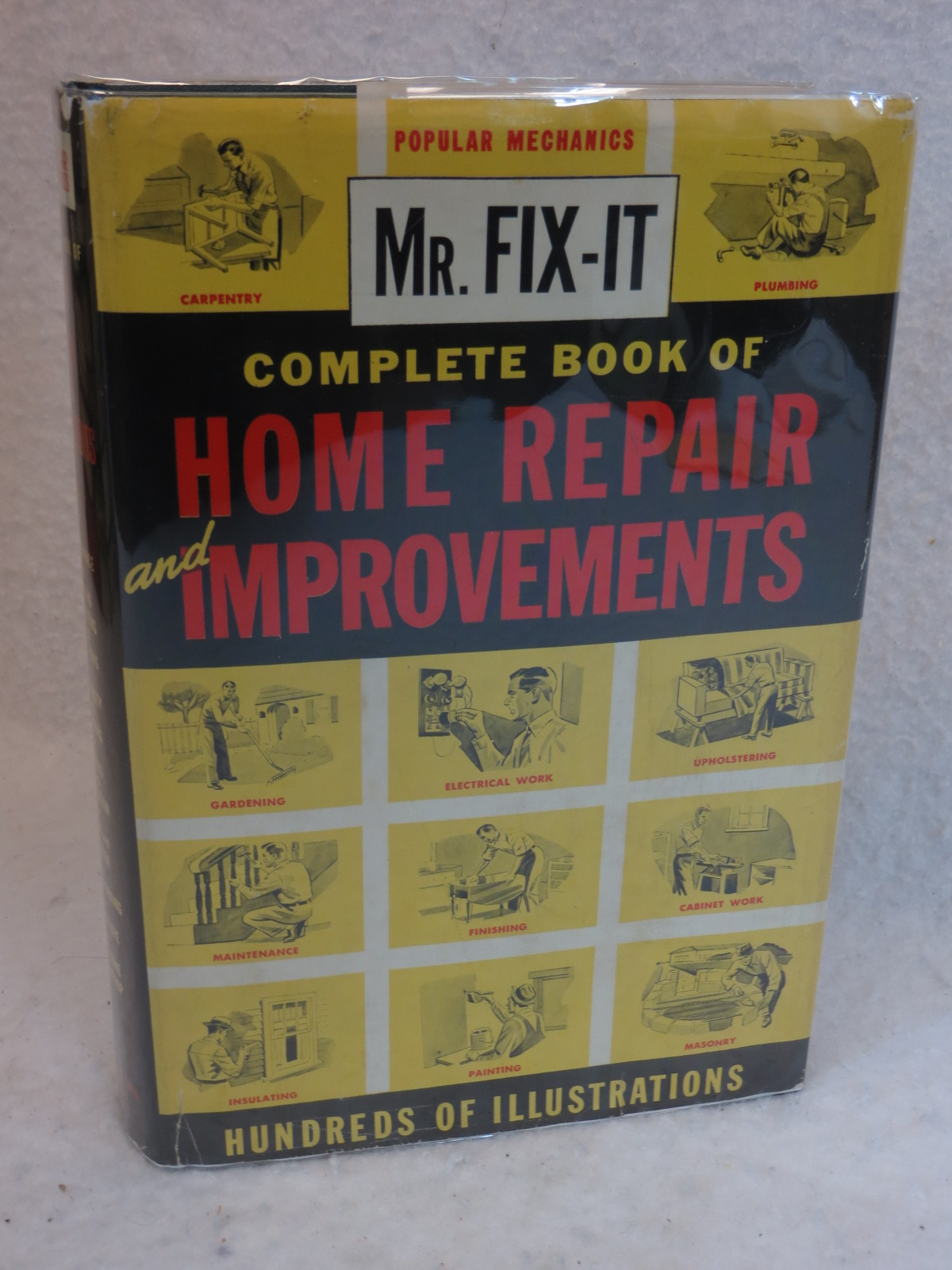 popular mechanics complete book of home repair and improvements