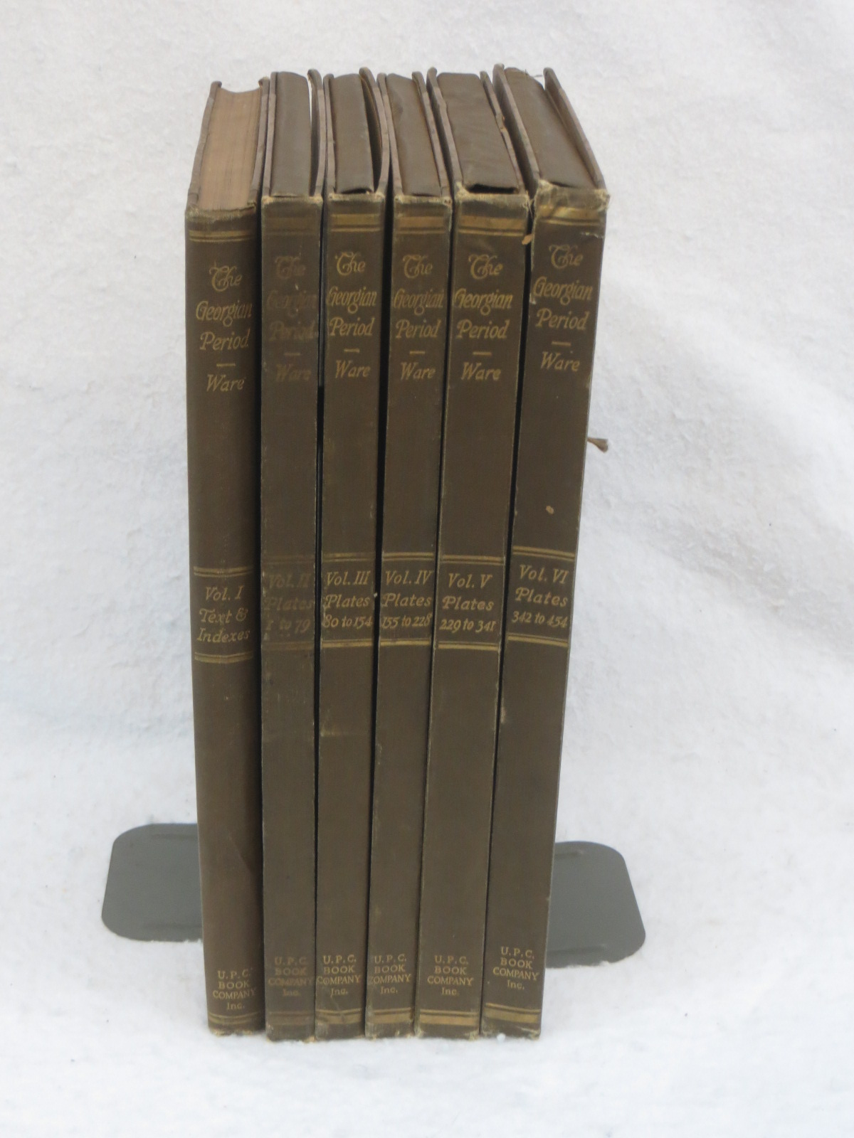 Details about William Rotch Ware THE GEORGIAN PERIOD 6 VOLUMES U P C  Book  Company 1923 HC